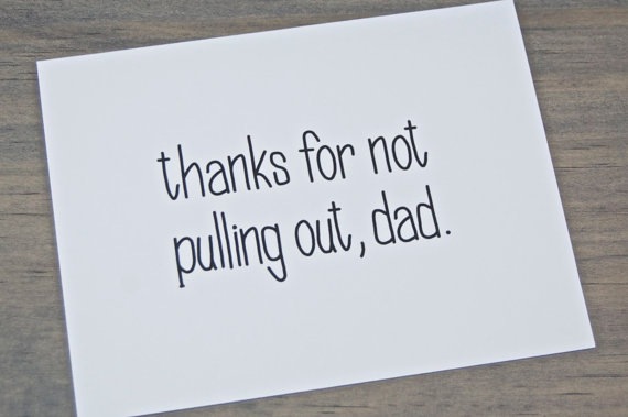 16 of the funniest Father's Day cards. Hold the tired remote control jokes.