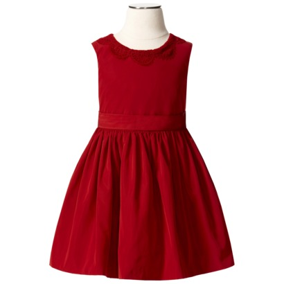 The coolest red holiday dresses for the coolest girls