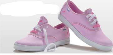 Keds stomps out breast cancer