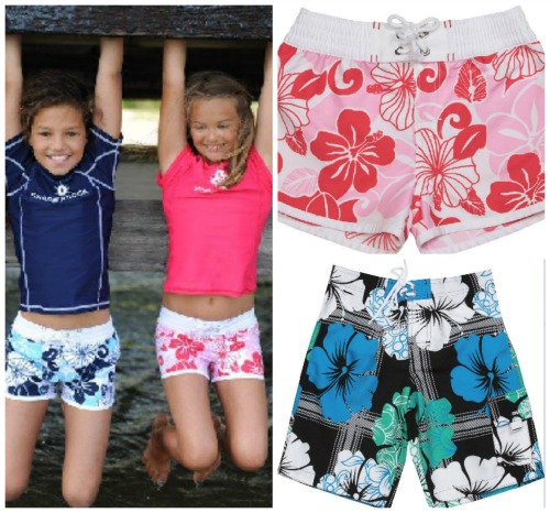 UV swimwear to keep our girls (and boys) covered
