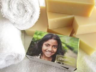 Saving lives with soap. Yes, soap.