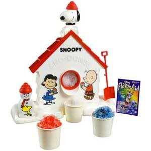 Snoopy Sno-Cone Makers! Remember those?