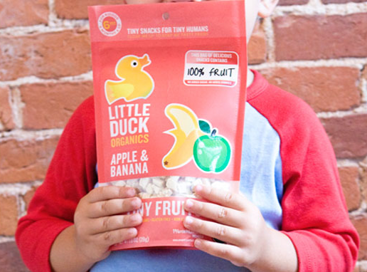 Duck, duck…fruit! Healthy all-natural snacks for little ones
