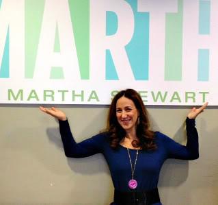 We're on Martha Stewart! Yipeeeee!