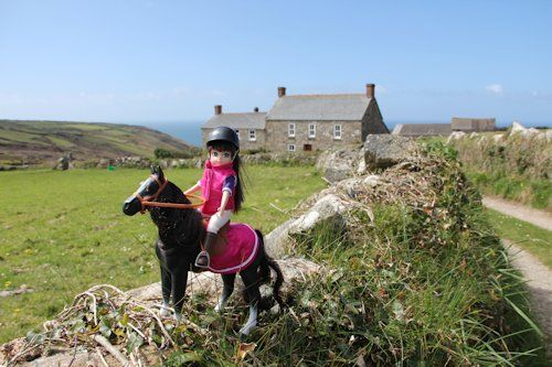 Lottie rides her pony | Cool Mom Picks