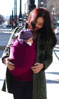 A baby carrier that might be the next best thing to your womb