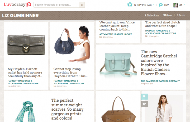 Luvocracy: A new way to shop. With Cool Mom Picks!
