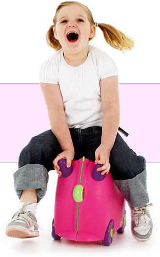 Trunki gives a whole new meaning to dragging kids through the airport.