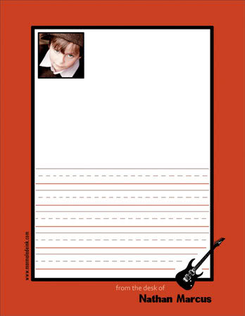 Notepads Perfect For Kids. And Narcissists.