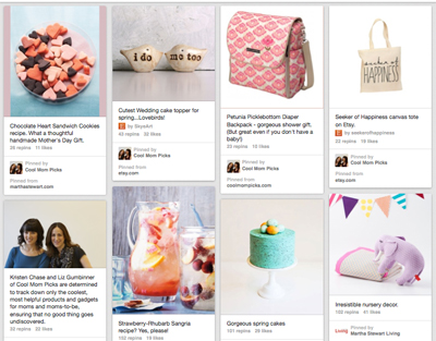 The newest cool thing on Martha Stewart Living's Pinterest boards? Us!