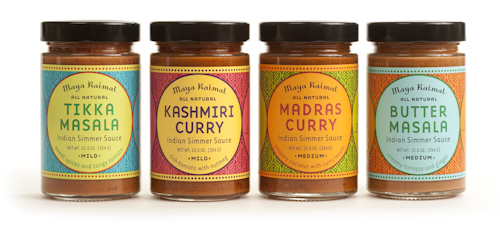 Maya Kaimal simmer sauces on Cool Mom Picks