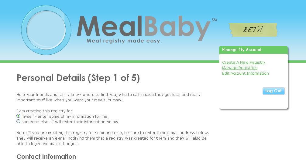 Forget the $2000 stroller. Register for homemade meals instead.