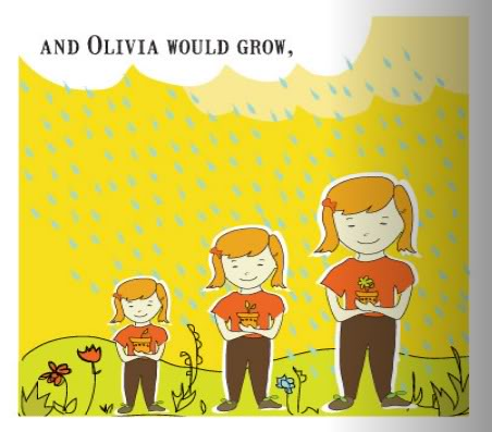 Personalized children's books you could hang on the walls