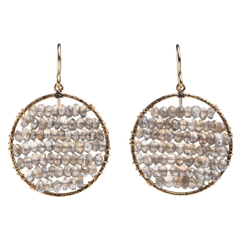 Add some sparkle to your holiday wish list with custom earrings