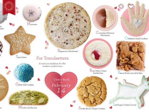 Go ahead. Make my cookies.