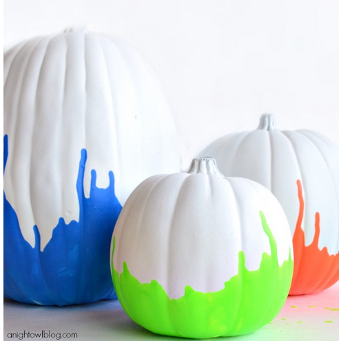 Halloween pumpkin decorating ideas from a pretty great source