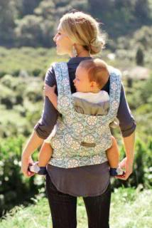 Ergo and Petunia Pickle Bottom make babywearing oh so pretty