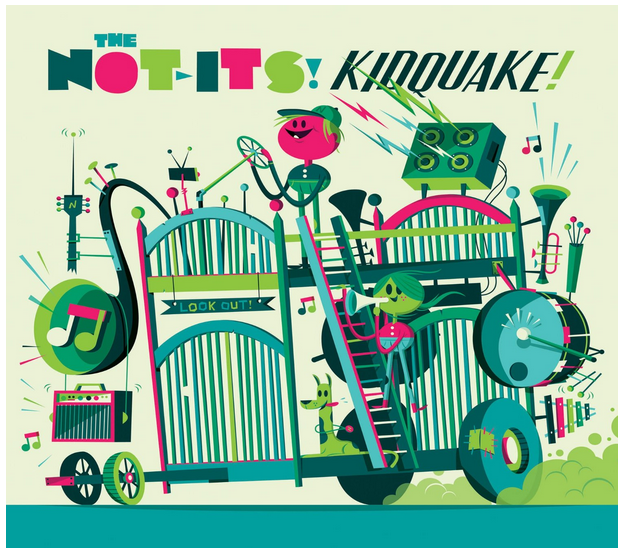 Shake things up with great new music from The Not-Its!