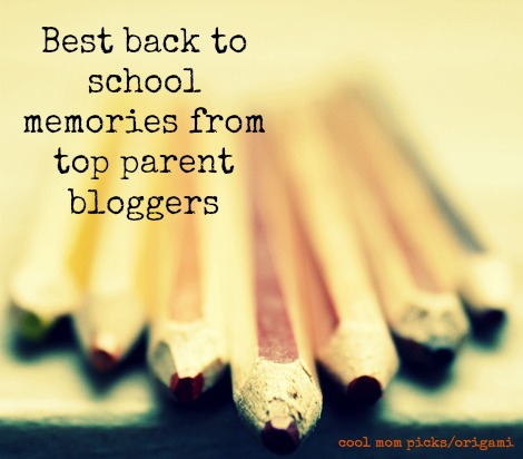 The best back to school memories from top parent bloggers. And a cool app to help you share your own