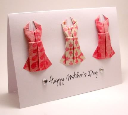 Three dresses for Mother's Day