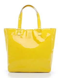 The yellow bag of happiness