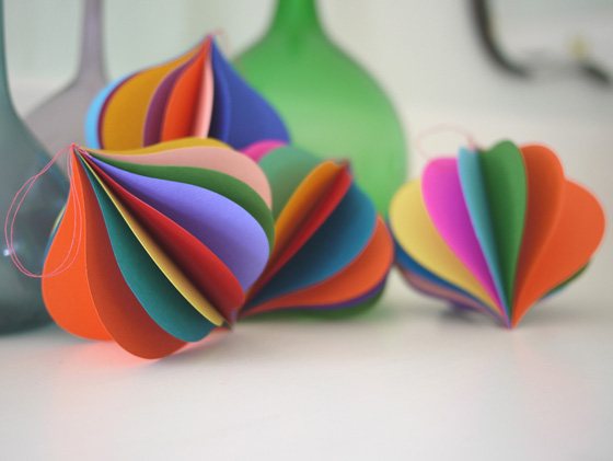 Pretty paper ornaments for your tree cool mom picks for Cool paper ornaments