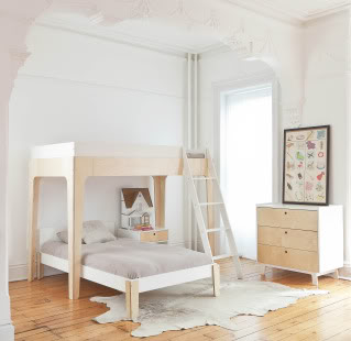 New bunk beds from Oeuf take room-sharing to stylish new heights