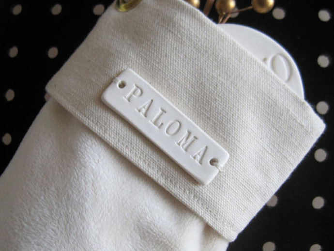 holiday gift: personalized stocking | cool mom picks