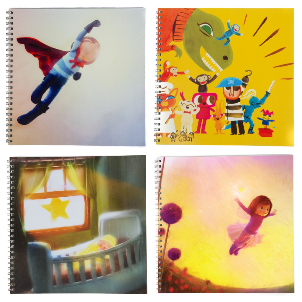 Personalized notebooks for your superkid at a super amazing price