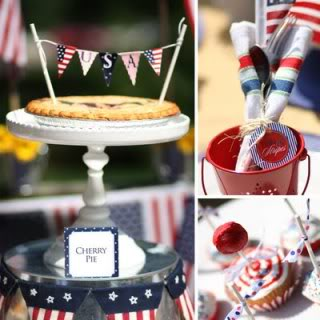 Patriotic printables for your summer picnic