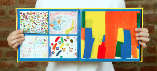 Preserving kids' artwork has never been so pretty (or organized)
