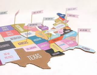 A DIY puzzle that helps you keep the United States, united