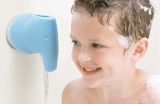 Safer bathtime for babies thanks to the help of a blue elephant