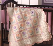 Custom baby quilts for the very picky