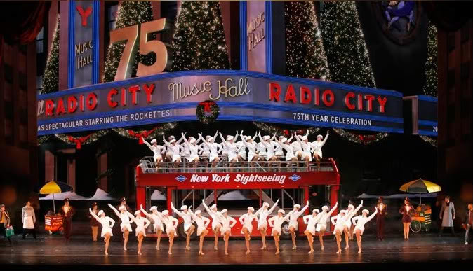 Who wants to come see the Rockettes with me next week? No, seriously.
