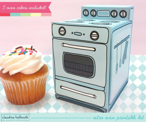 The only thing better than a cupcake? A cupcake tucked into this gift box.