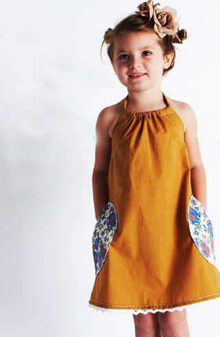 Girls clothes from a simpler time. A time without sequins.