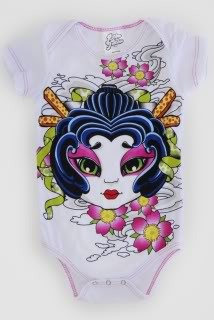 Miami Ink for babies. Too cool.