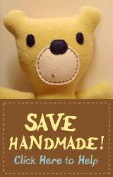 Save Handmade – CPSIA Update