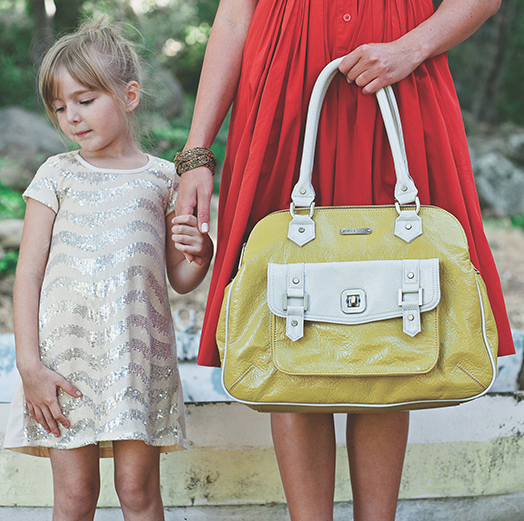 The hot diaper bags from Timi and Leslie for spring