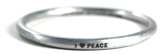 Peace on earth takes on a whole new meaning with these bracelets
