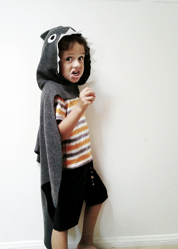 Handmade Halloween costumes for kids who don't really want to wear costumes