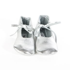 Born with a silver shoe