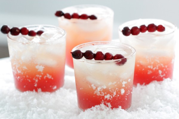 Cranberry Vanilla Holiday Cocktail on Cool Mom Picks