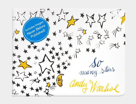 Andy Warhol, Bugaboo, and so many twinkling stars. Can you think of a cooler combination?