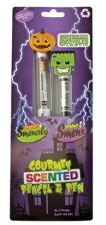 Smencils: A no-sugar Halloween treat that is no trick