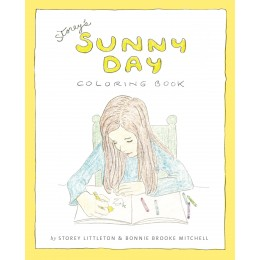A coloring book as lovely as the little girl behind it