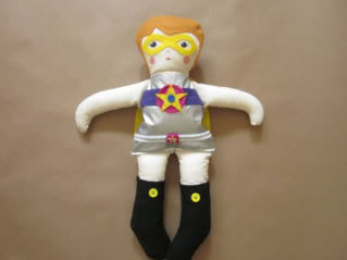 A super girl doll for your super girl (or boy!)