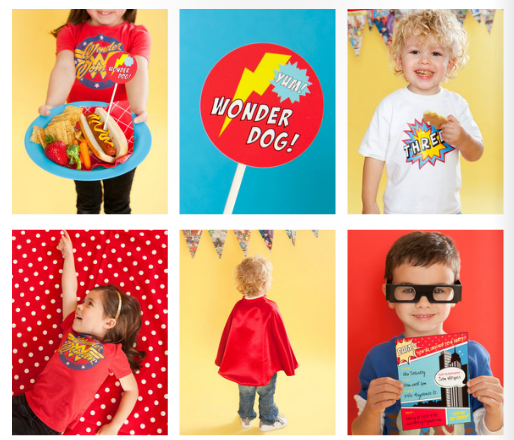The coolest superhero party resources online