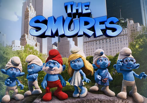 "Sponsored Message: Take your kid to ""The Smurfs"" in 3-D"